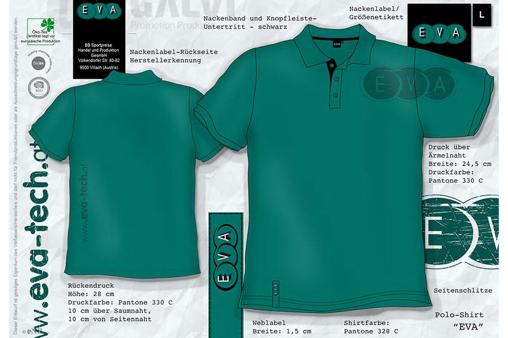 EVA Entwurf T-Shirt - Galvi