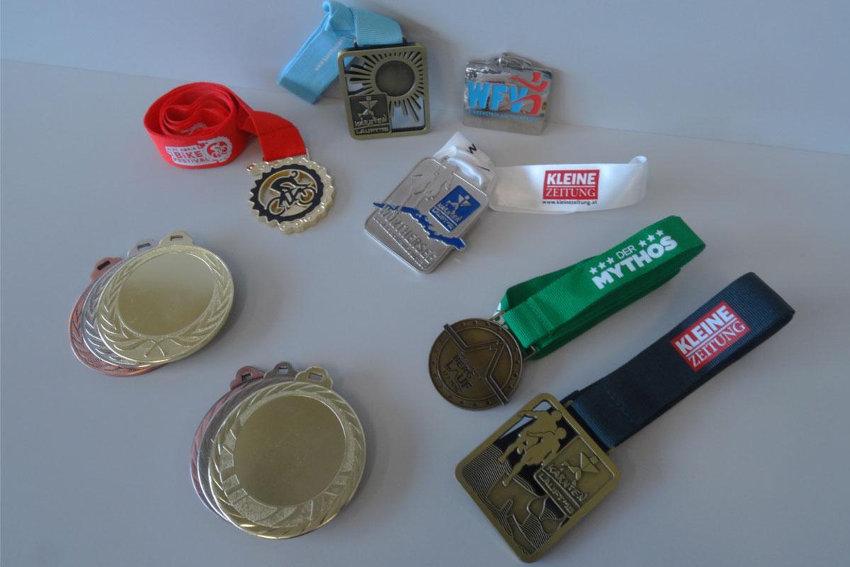 Medaillen - Referenzen Galvi