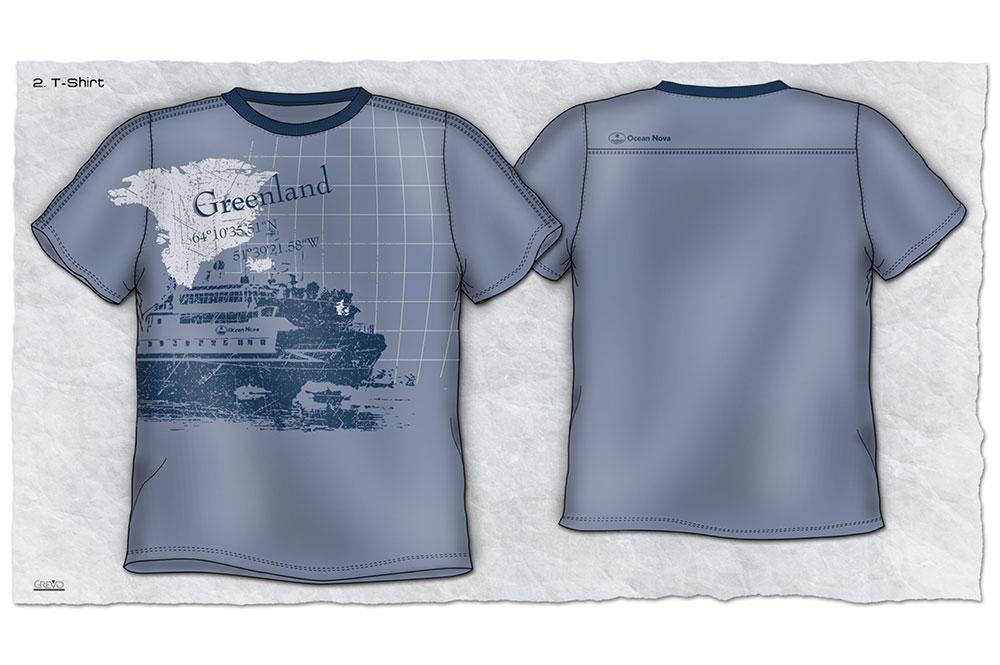 Ocean Nova Shirt Entwurf - Galvi