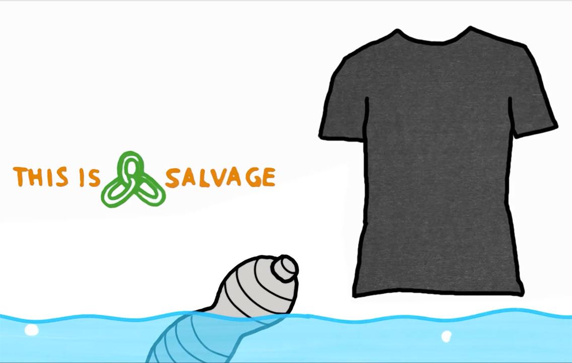Aus ökologischer Verantwortung: SALVAGE-Textilien - Galvi