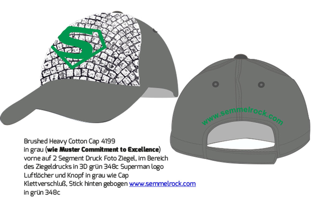 Semmelrock Kappe Entwurf - Galvi Villach